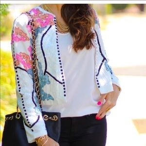 ASOS Beaded Embellished Gorgeous Jacket